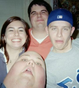 Behold, a man who looks like a thumb