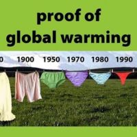Pants prove Global Warming