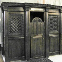 My day in a confessional box