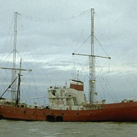 Could Radio Caroline return from a ship at sea?