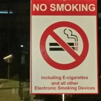 Prohibit those smelly e-cigarettes now!