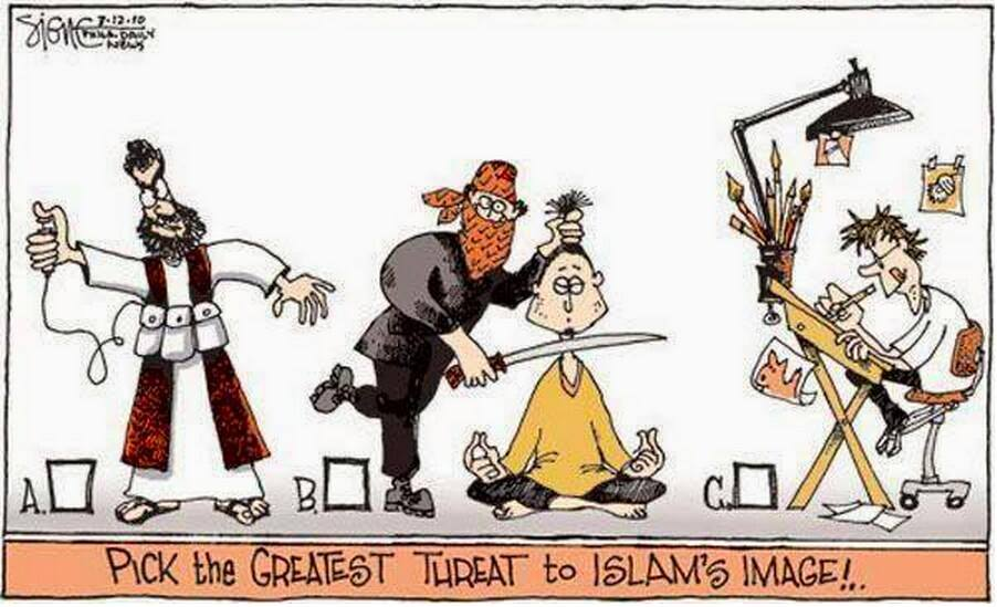 The Greatest Threat To Islam  Englands England-1172