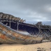 Radio Caroline sinking