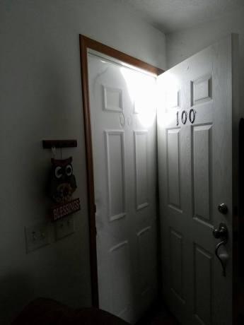 snow-door