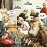 Classic rock in the old folks home
