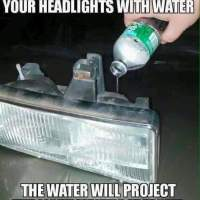 Protect your headlights